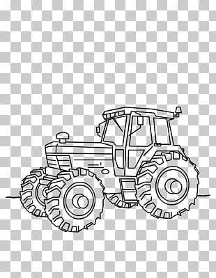 Car Tractor Fordson Kleurplaat Drawing Car Png Clipart Free