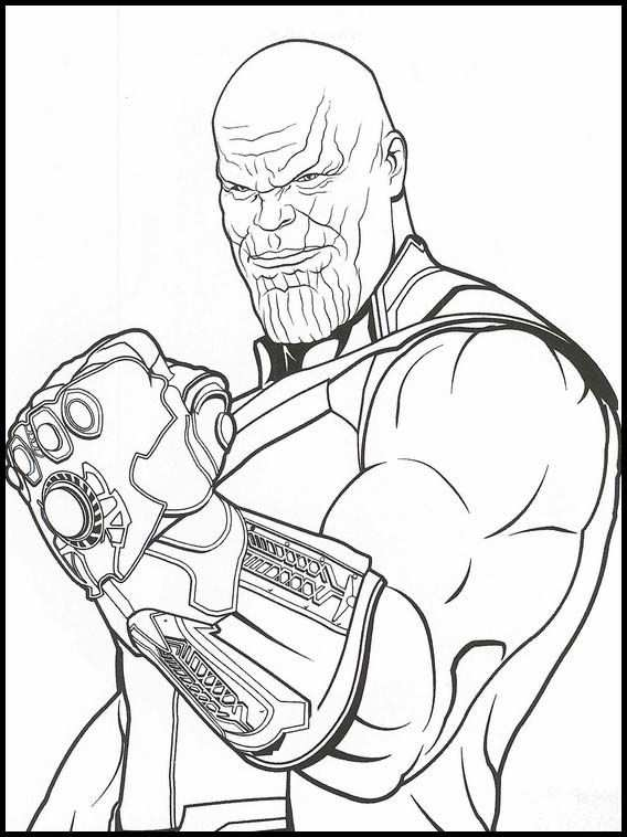 Avengers Endgame 34 Printable Coloring Pages For Kids Con