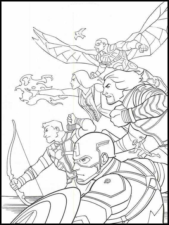 Avengers Endgame Kleurplaten 10