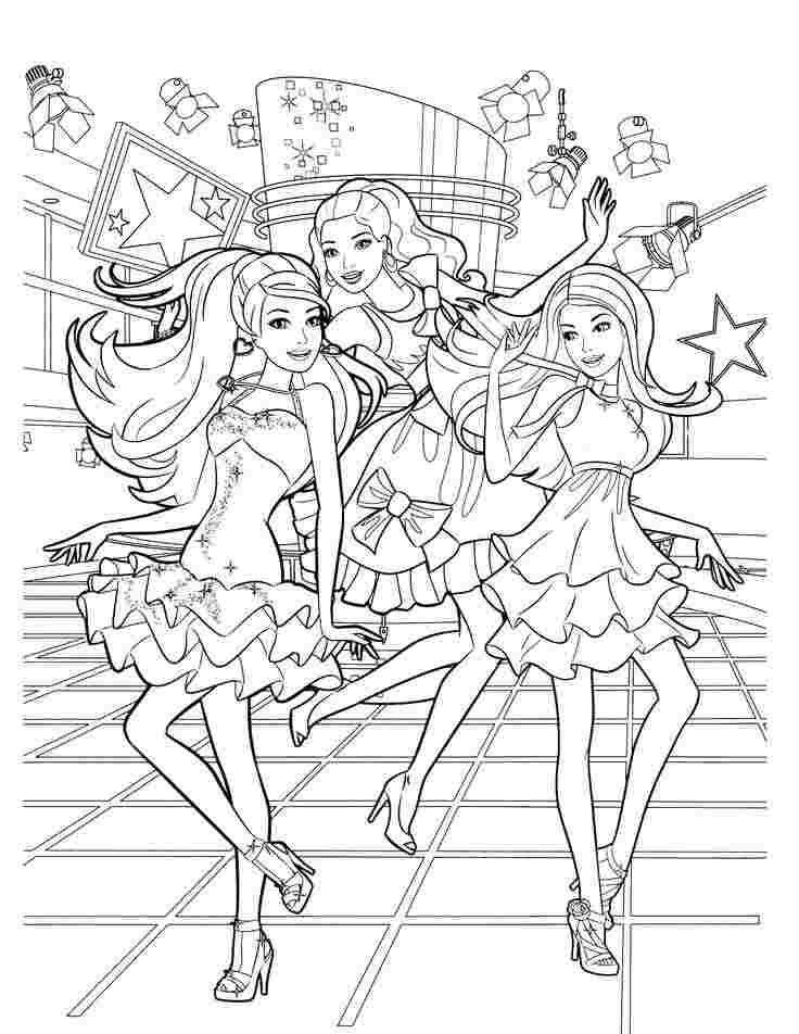 Barbie Dream House Coloring Pages 9999 Printable Coloring