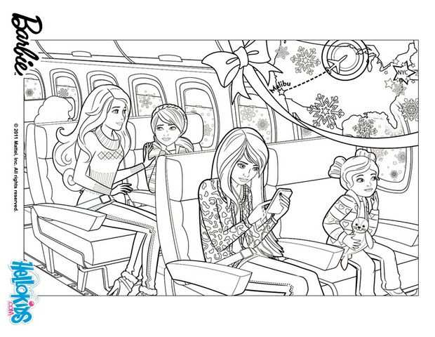 Elegant Barbie Coloring Pages With Images Barbie Coloring