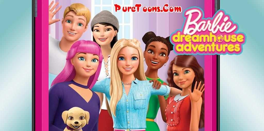 Kleurplaat Barbie Dreamhouse Adventures