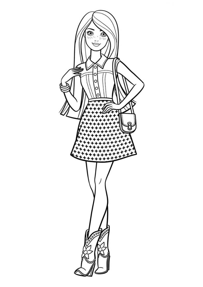 Coloring Page Barbie Dreamtopia Barbie Glitter Kingdom 2 In 2020