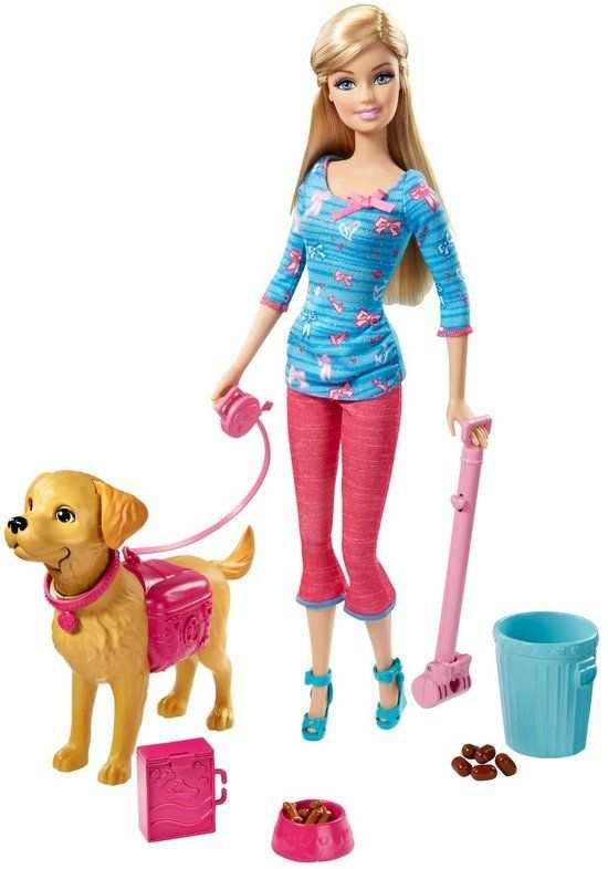 Barbie En Taffy Trainer Barbie Pop Met Hond Met Afbeeldingen