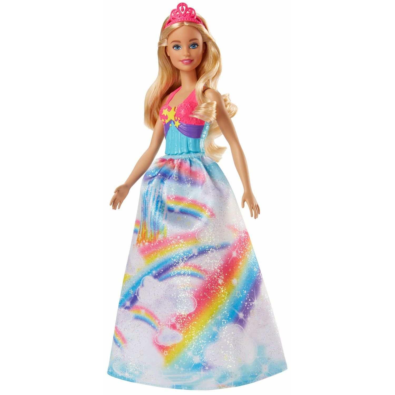 Barbie Dreamtopia Prinses Blond Mooie Jurken Kleurrijke Kleding