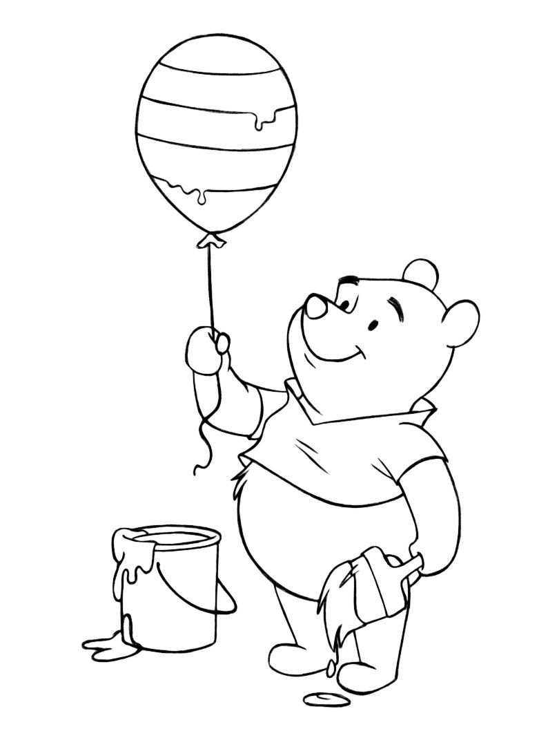 Winnie The Pooh Coloring Pages Printable Winnie The Pooh Easter