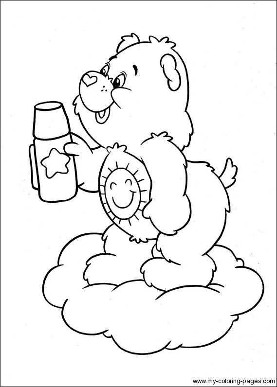 Pin Van Care Bears World Op Care Bear Funshine Bear 4