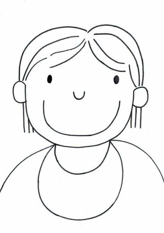 Mama Ketting Stempelen Knutselen Thema Moederdag Kleurplaten