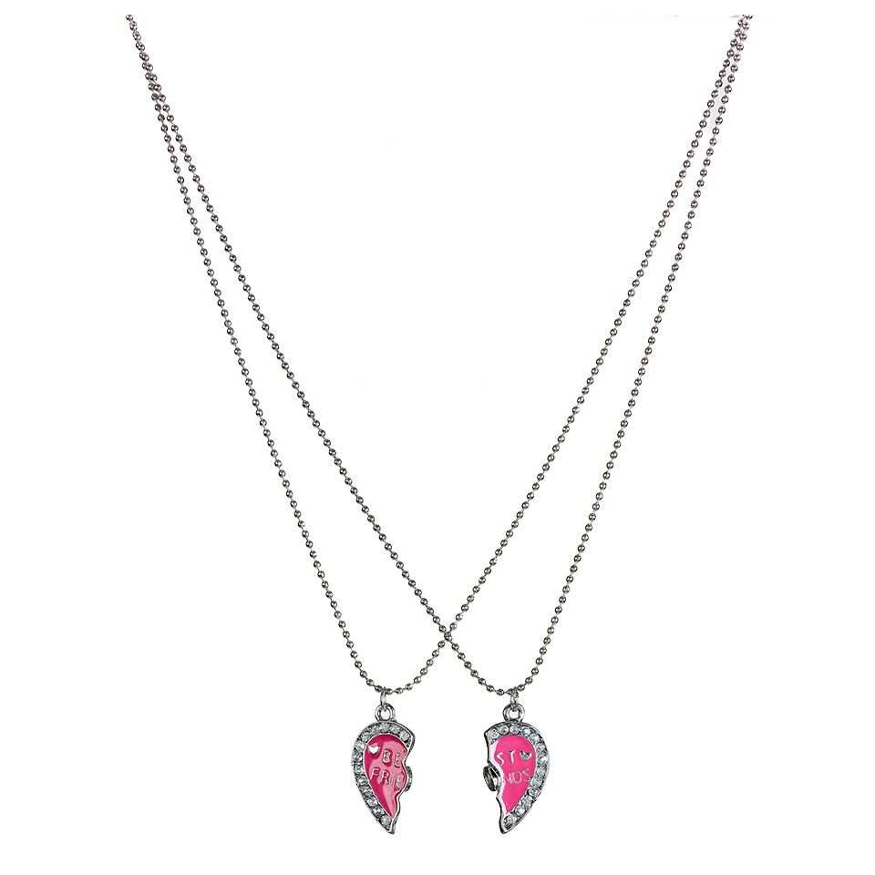 Ketting Bff Hart Glitter Intertoys Bff Kettingen