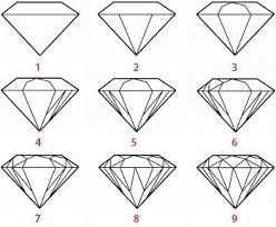 Gerelateerde Afbeelding Leer Tekenen Diamant Tekening Schetsen