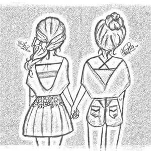 Best Friend Drawings That Are Easy To Draw Yahoo Image Search
