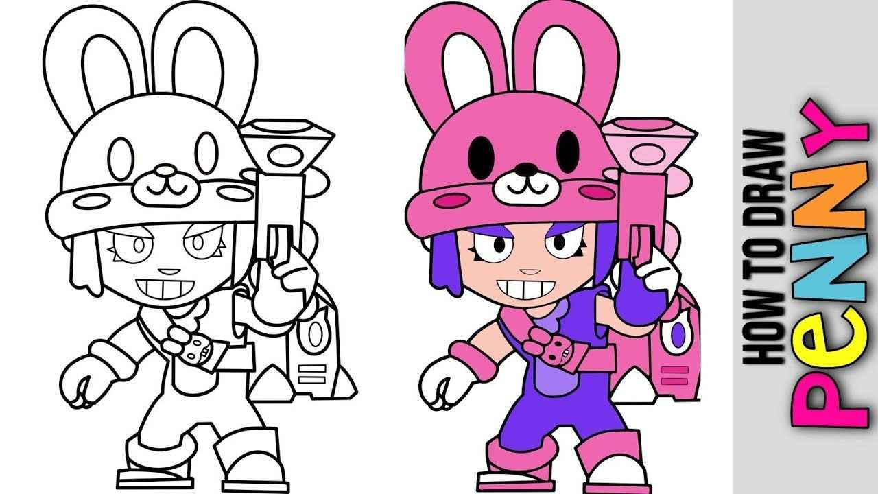 How To Draw Bunny Penny New Easter Skin Brawl Stars Update