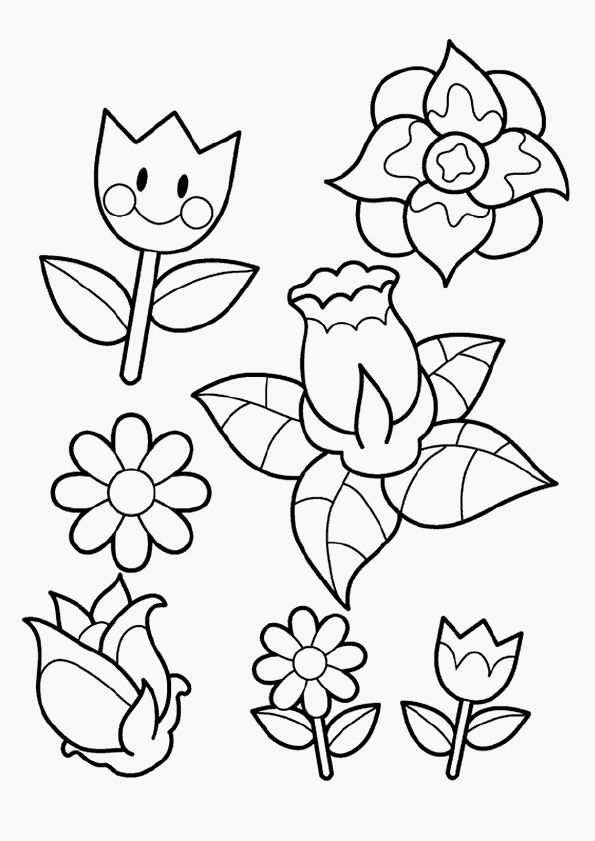16 Beste Van Kleurplaat Bloemen Verjaardag Concept Gratis