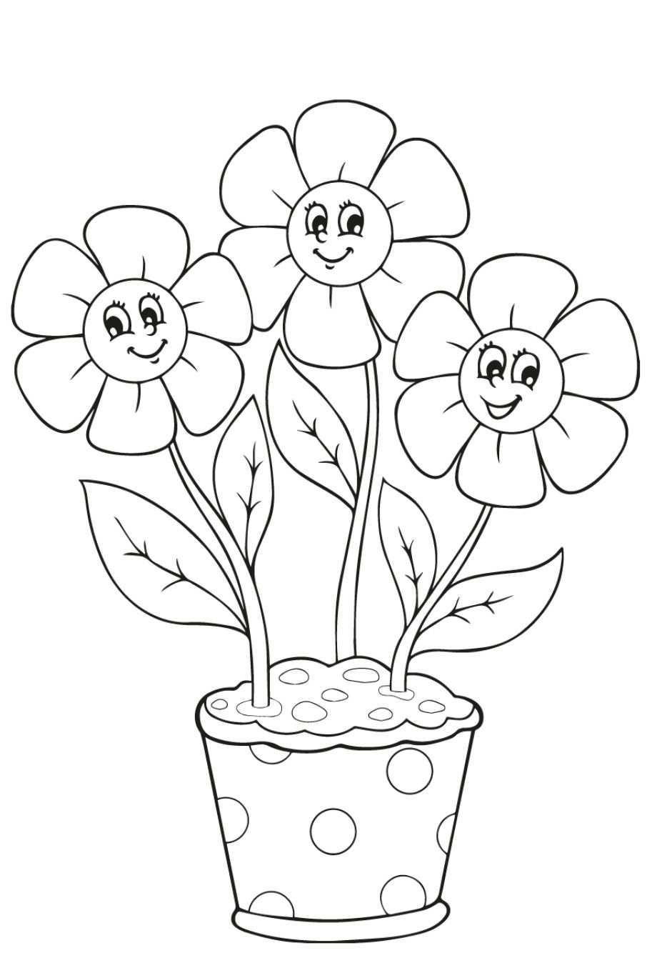 Kleurplaat Bloemen 26 Superleuke Gratis Kleurplaten Bloemen In
