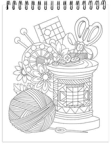 kleurplaat bloementuin