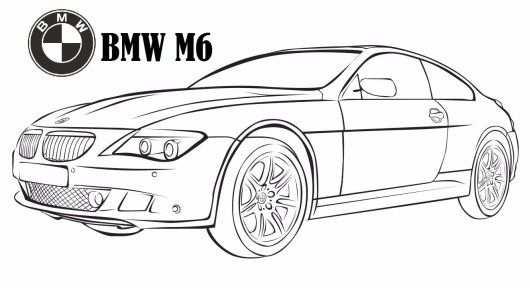 kleurplaat bmw x5