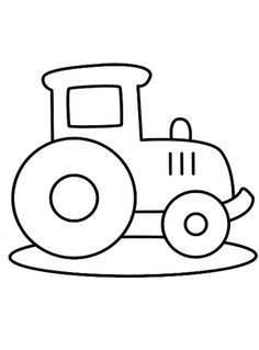 Peuters Applique Templates Coloring Pages Easy Coloring Pages