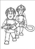 Kleurplaat Brandweerman Sam Brandweerman Brandweerman Knutselen