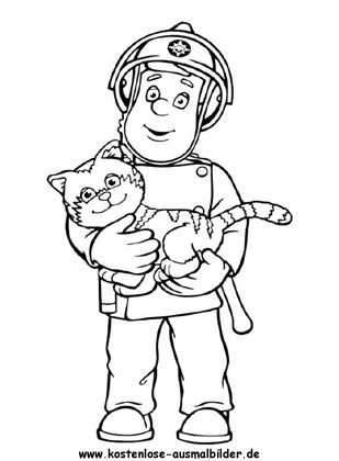 Feuerwehrmann Sam Tv Ausmalen Ausmalbilder Feuerwehrmann Sam