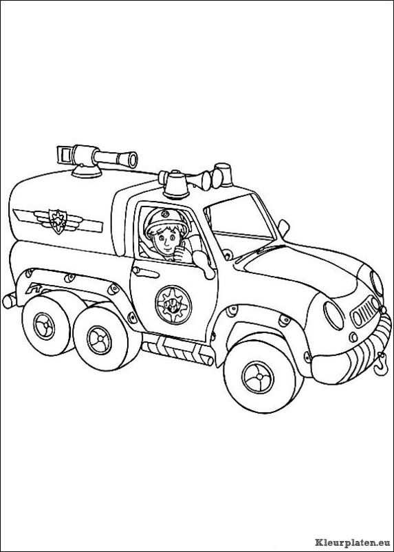 Brandweerman Sam 2 Coloring Books Coloring Pages Fireman Sam