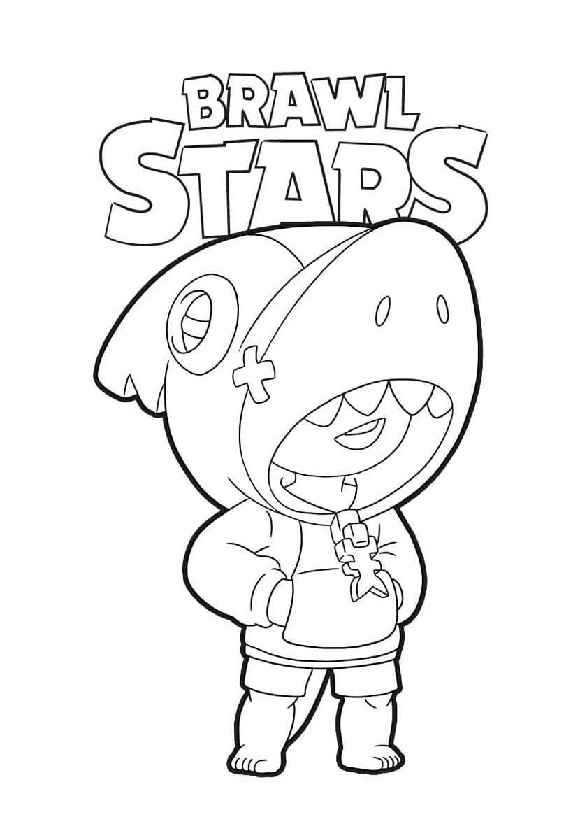 Shark Leon In 2020 With Images Star Coloring Pages
