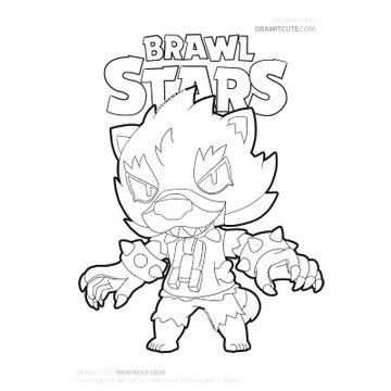 Brawl Stars Coloring Pages Check More At Https Www Donyoung08