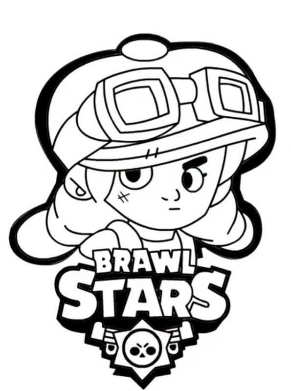 Brawl Stars Ausmalbilder In 2020 Kleurplaten Clash Of Clans