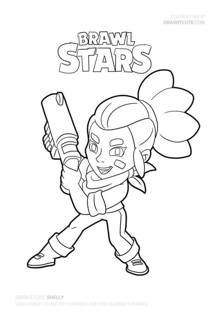 How To Draw Shelly Super Easy In 2020