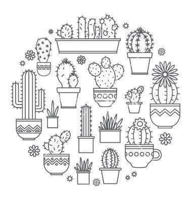 Bogo Free Cactus Cross Stitch Pattern Modern Cross Stitch Pattern