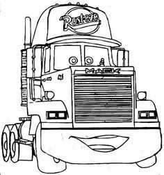 Cars Colouring In Pages With Images Cartoon Coloring Pages