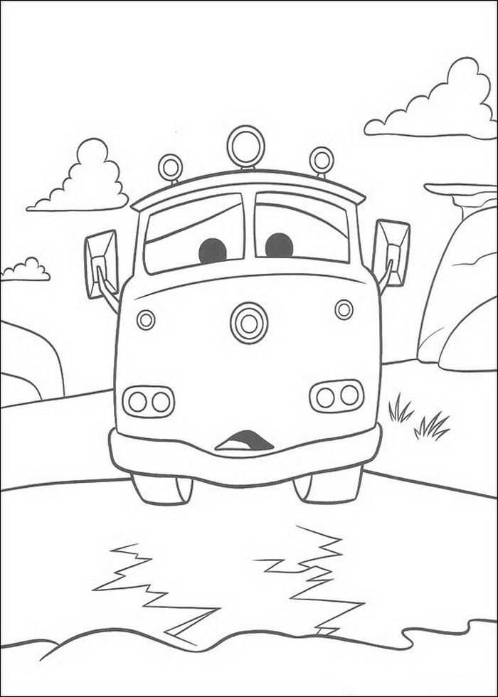 Cars Coloring Pages Cars Coloring Pages Truck Coloring Pages