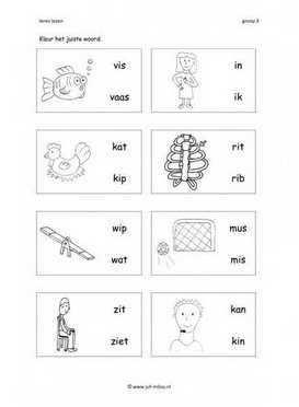 Pin Van Marleen Op Spelling Groep 3 In 2020 Leren Lezen Lezen