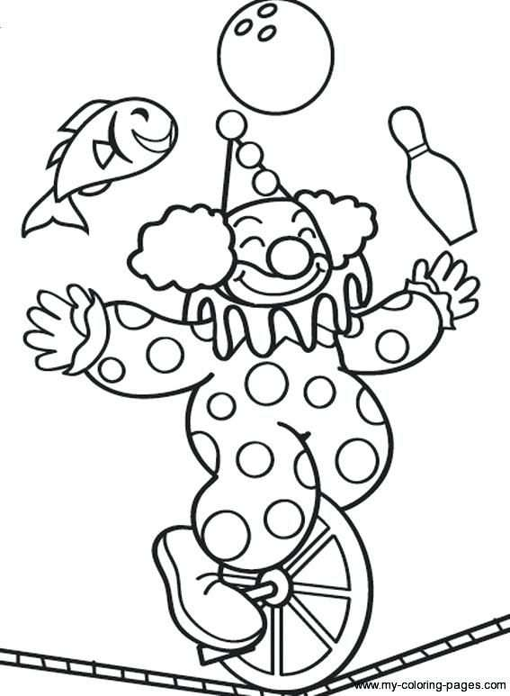 Circus Coloring Books Tent Pages On Not My Circus Monkeys In 2020