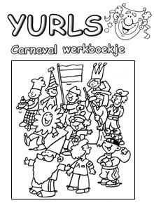 Yurls Werkboekjes Werkboekjes Yurls Net Carnaval Carnaval