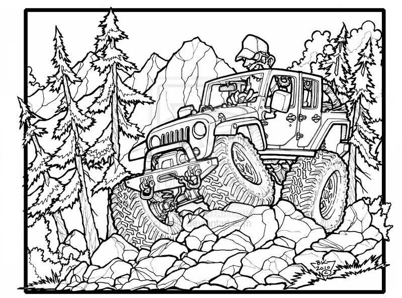 Fun Jeep Wrangler Unlimited Off Roading Great One For The Jeep