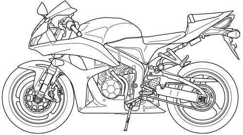 Honda Cbr 600rr 2008 Com Imagens Cbr 600 Desenhos Cbr