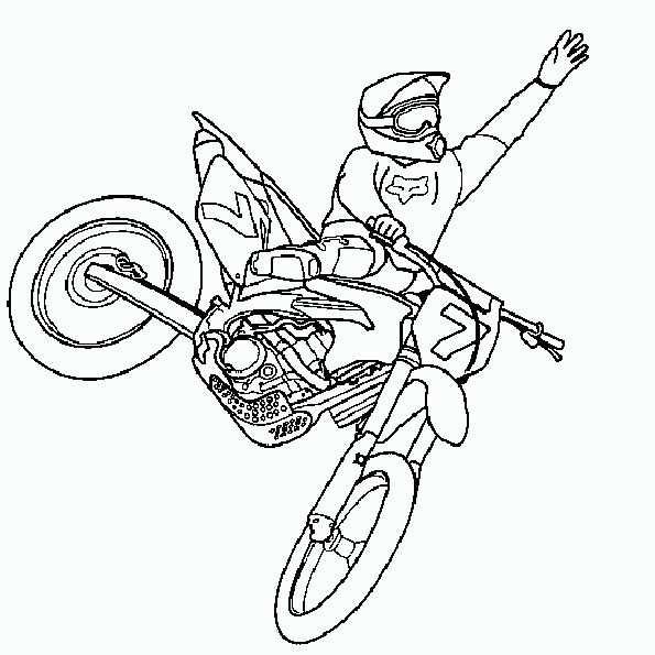 Motorrad 7 Mit Bildern Kostenlose Malvorlagen Malvorlagen