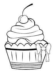 Resultat De Recherche D Images Pour Cupcake Kleurplaat Mit