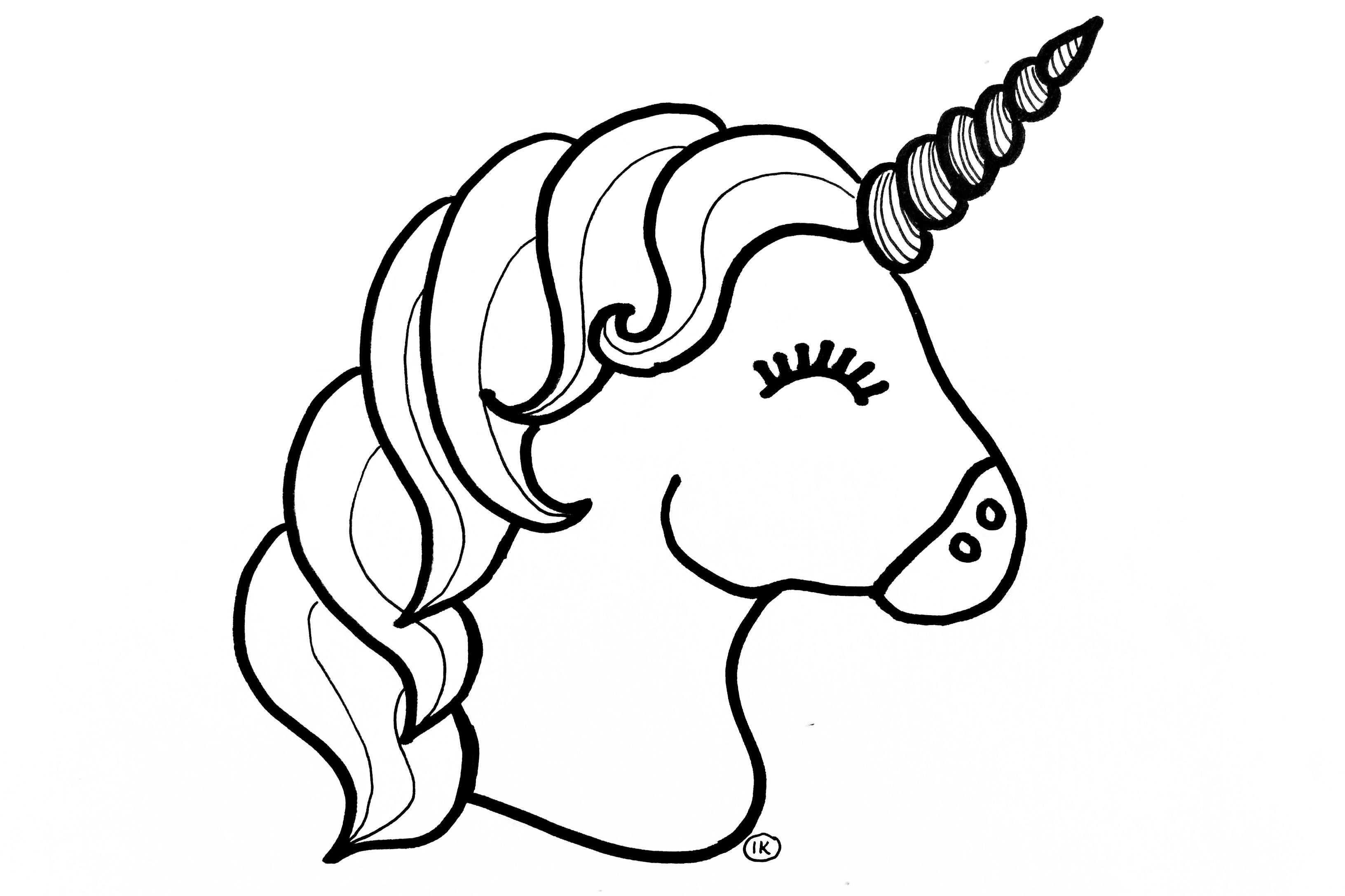 Kleurplaten Eenhoorns Unicorns Kleurplaten Schattige Tekeningen