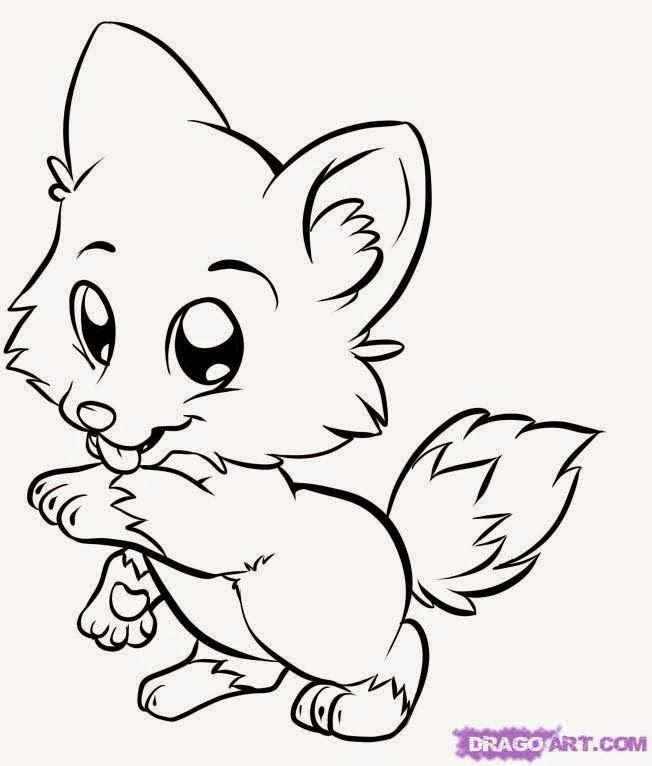 Coloring Pages Of Cute Animals Best Coloring Pages Met