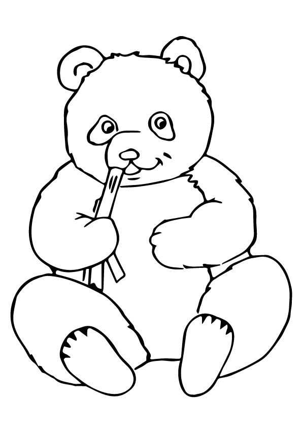 Click Share This Story On Facebook Bear Coloring Pages Panda