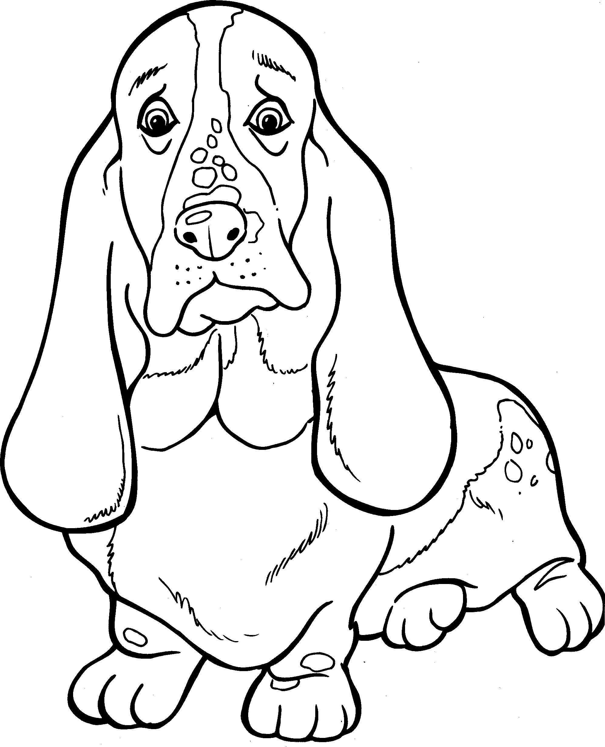 Honden Kleurplaat Kleurplaten Honden En Honden Quilts