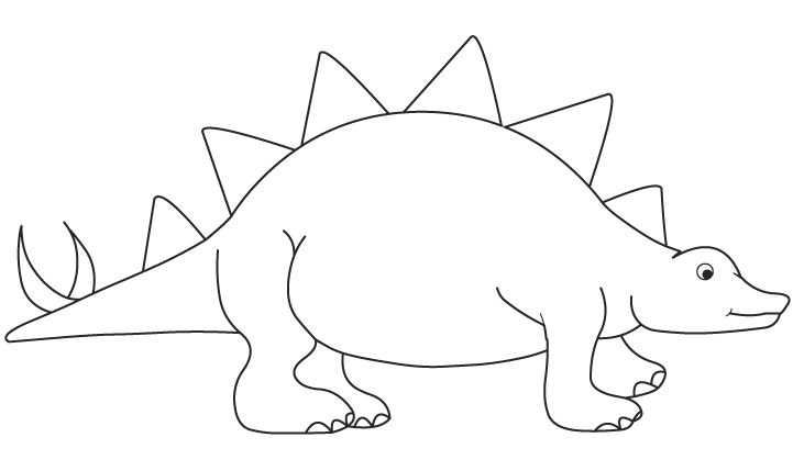 Kleurplaat Dino Thema Dinosaurussen Dinosaurus