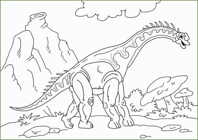 5 Kleurplaat Dinosaurus Met Afbeeldingen Kleurplaten