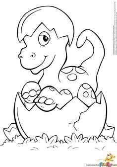 Kleurplaat Dinosaurus Kleuter Google Zoeken Met Afbeeldingen