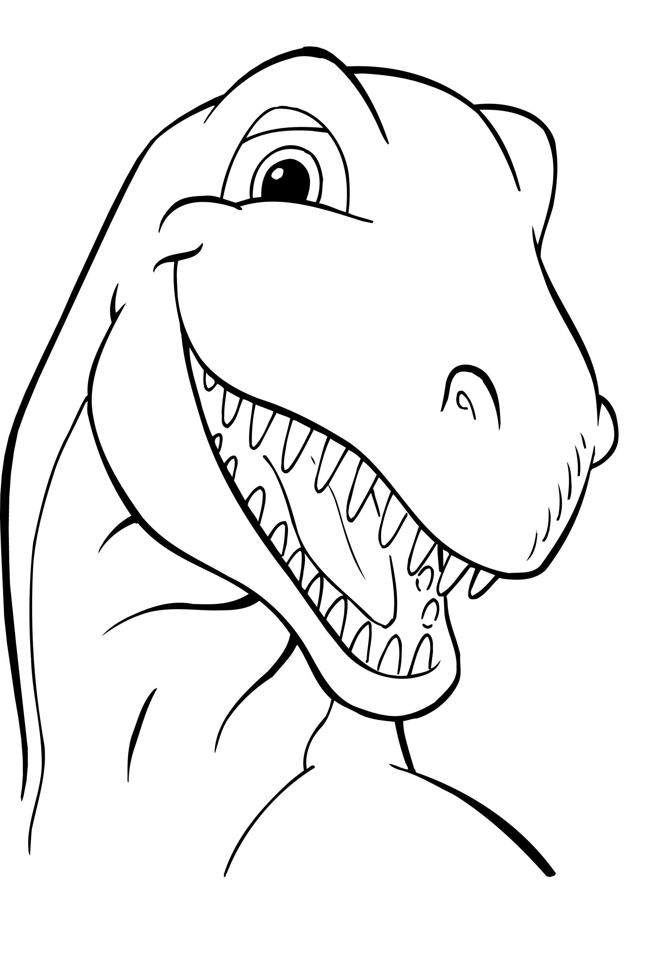 Free Printable Dinosaur Coloring Pages For Kids Dinosaurussen