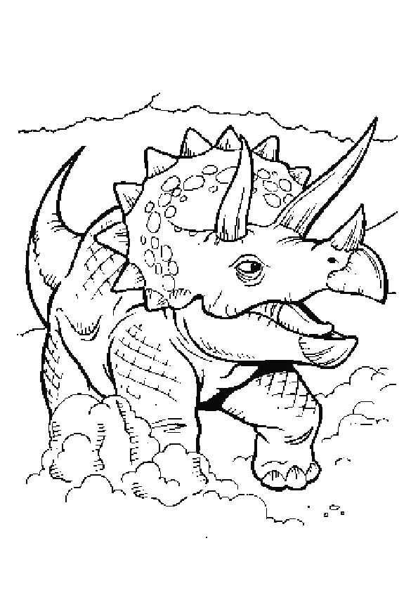 Dinosaurus Kleurplaten 24 17318 Jpg 595 841 Kleurplaten