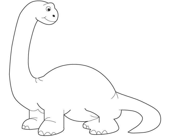 Kleurplaat Dino Kleurplaten Dinosaurus Leuke Ideeen
