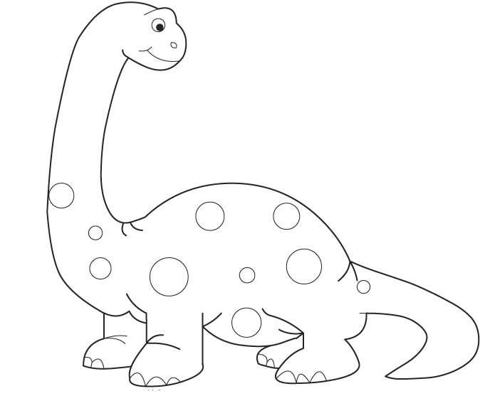 Kleurplaat Dino Dinosaurus Kleurplaten Dinosaurussen