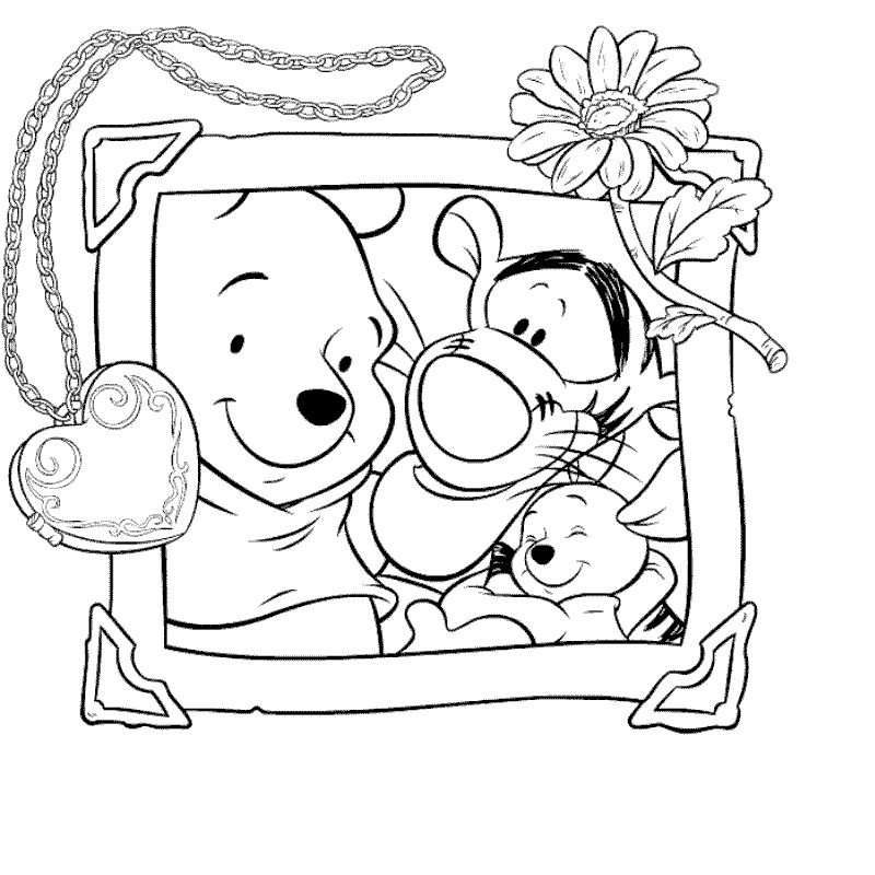 Disney Kleurplaat Disney Coloring Pages Printables